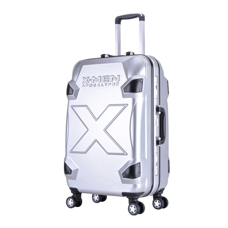 20 24inch Super Hero X-men Rolling Luggage rolley X-man Boarding Box Suitcases Travel Bag for Children