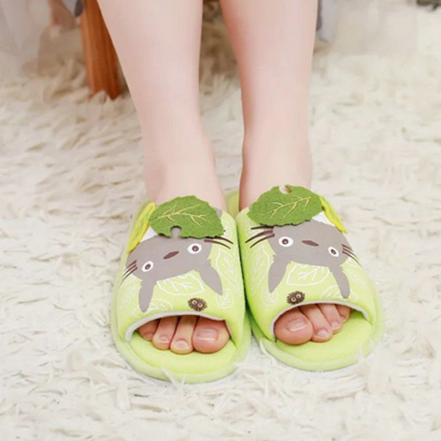 My Neighbour Totoro Unisex Spring Summer Home Slippers – 2 Colors Available