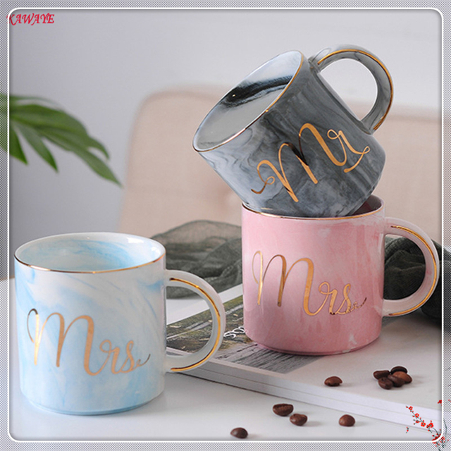 5f3b8540b5c 1pcs Ceramic Mug Multiple Styles Couple Cups Creative Breakfast Cup Milk Cup  Home Office Drinkware Coffee