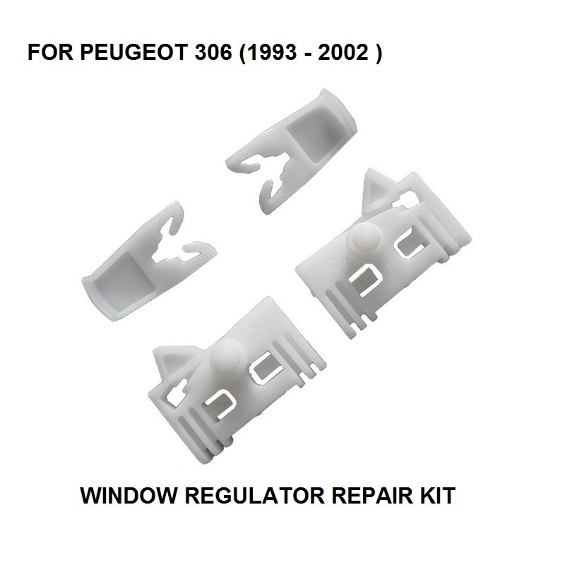 PEUGEOT 306 WINDOW REGULATOR REPAIR KIT FRONT RIGHT 1993-2002 4//5 doors model