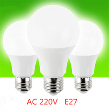 Lampada Led Lamp E27 Smart Light Lulb AC 220v 3W 6W 9W 12W 15W 18W 20W Lampada Cold/Warm White bulbs Table Lighting Decoration