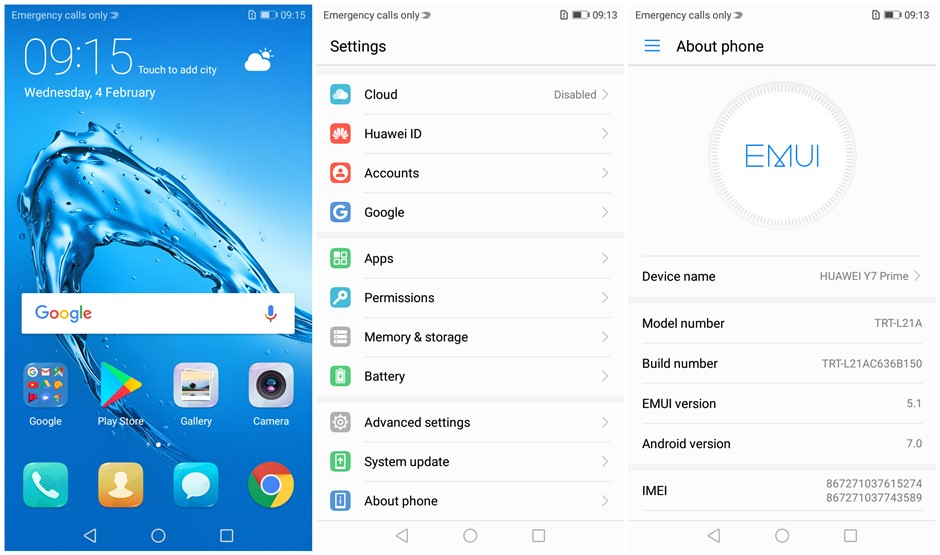 Глобальной прошивки huawei наслаждаться 7 Plus Y7 премьер 4G B Оперативная память 6 4G B Встроенная память 5,5 ''Octa Core 4000 мАч 12.0MP отпечатков пальцев 4G LTE смартфон
