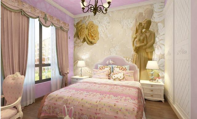 Personnaliser 3d Peintures Murales De Papier Peint Or Rose Bijoux 3d