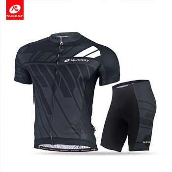 NUCKILY Cycling Suit short sleeve Summer breathable and quick dry MTB Suit Sport Men MA022MB022 - SALE ITEM Sports & Entertainment