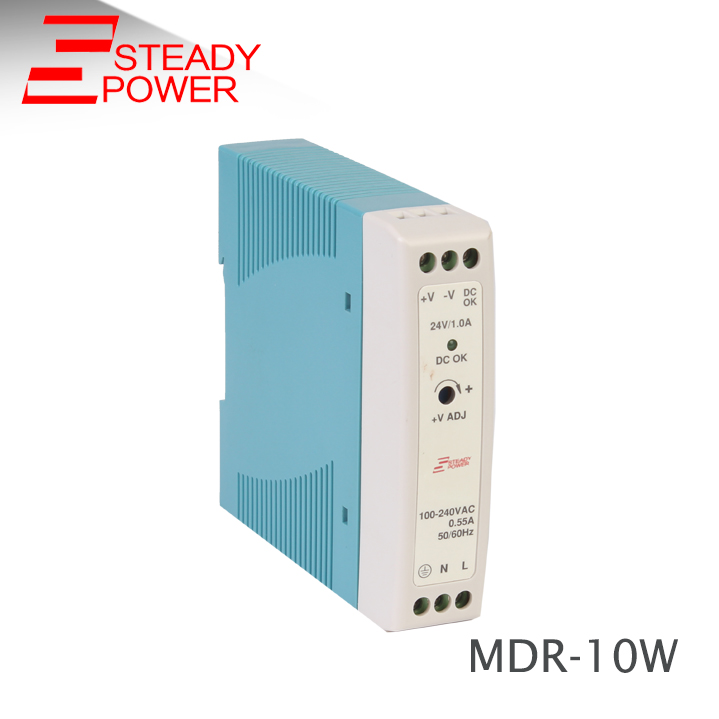 hot selling power supply Color Brilliancy Plastic Housing Mini DR DIN RAIL 10W 12V Power Supply Din Rail mh3 2051 power supply board for canon dr 3080c ii color scanner 100v only power supply