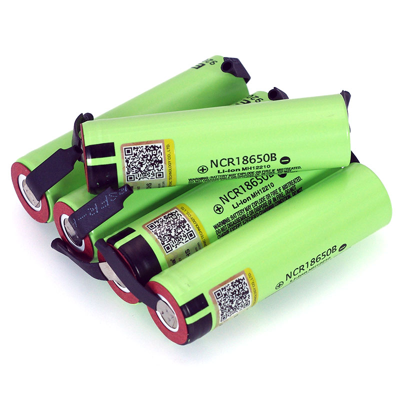 Image 5 - Liitokala Original NCR18650B 3.7 v 3400 mah 18650 Lithium Rechargeable Battery Welding Nickel Sheet batteries wholesale-in Replacement Batteries from Consumer Electronics