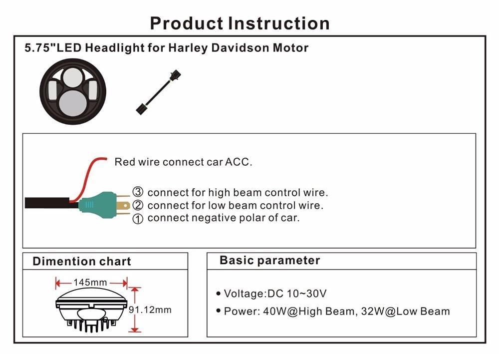 Harley Headlight Diagram - Schematics Online on
