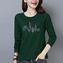 Shintimes Tee Shirt Femme Long Sleeve Women T-Shirt Cotton Korean Clothes T 2019 Tshirt Womens Clothing Autumn
