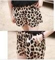 Celebridade estilo Sexy Leopard Animal solto Fit Casual Shorts Hotpants verão Hot Plug frete grátis