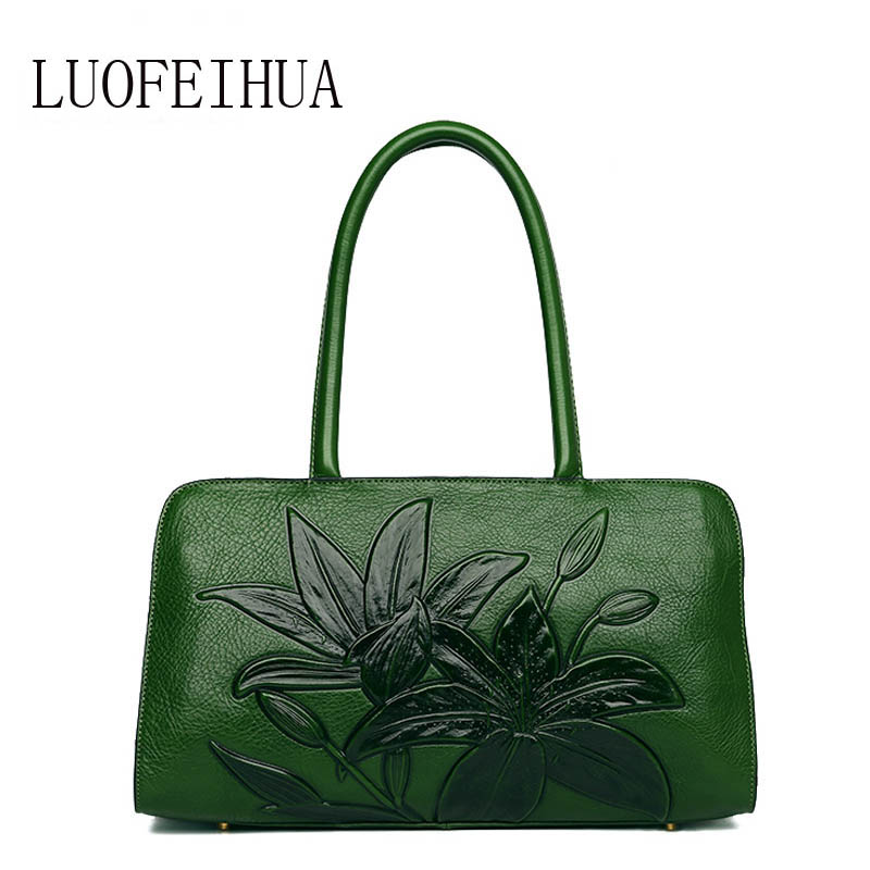 LUOFEIHUA Genuine Leather women bags for women 2019 New Luxury Embossed Handbags Brand Bags Handbags Women Bags Designer BagsLUOFEIHUA Genuine Leather women bags for women 2019 New Luxury Embossed Handbags Brand Bags Handbags Women Bags Designer Bags