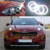 For Kia Sportage KX5 2016 Excellent Led Angel Eyes Ultrabright Illumination Smd Led Angel Eyes Halo