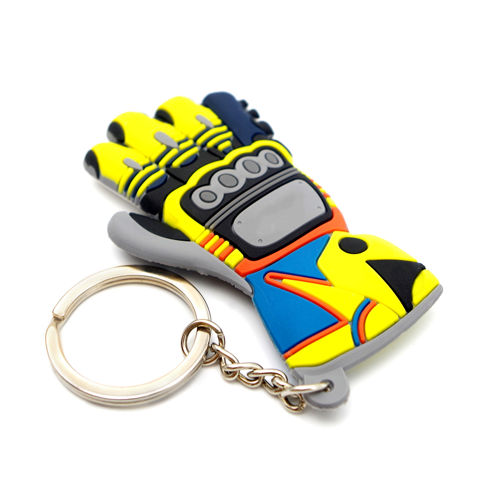 Прекрасный мото брелок с перчаткой логотип мотоцикл аксессуар брелок Voiture цепь для smycz do kluczy ключ recaro scania