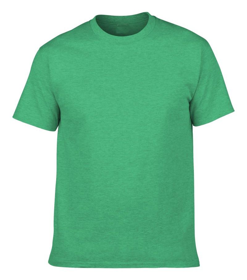 EnjoytheSpirit Cotton T-shirt Digital Print Plain T Shirt Military Forest Irish Green Heather Green Men Custom Logo Printed Футболка