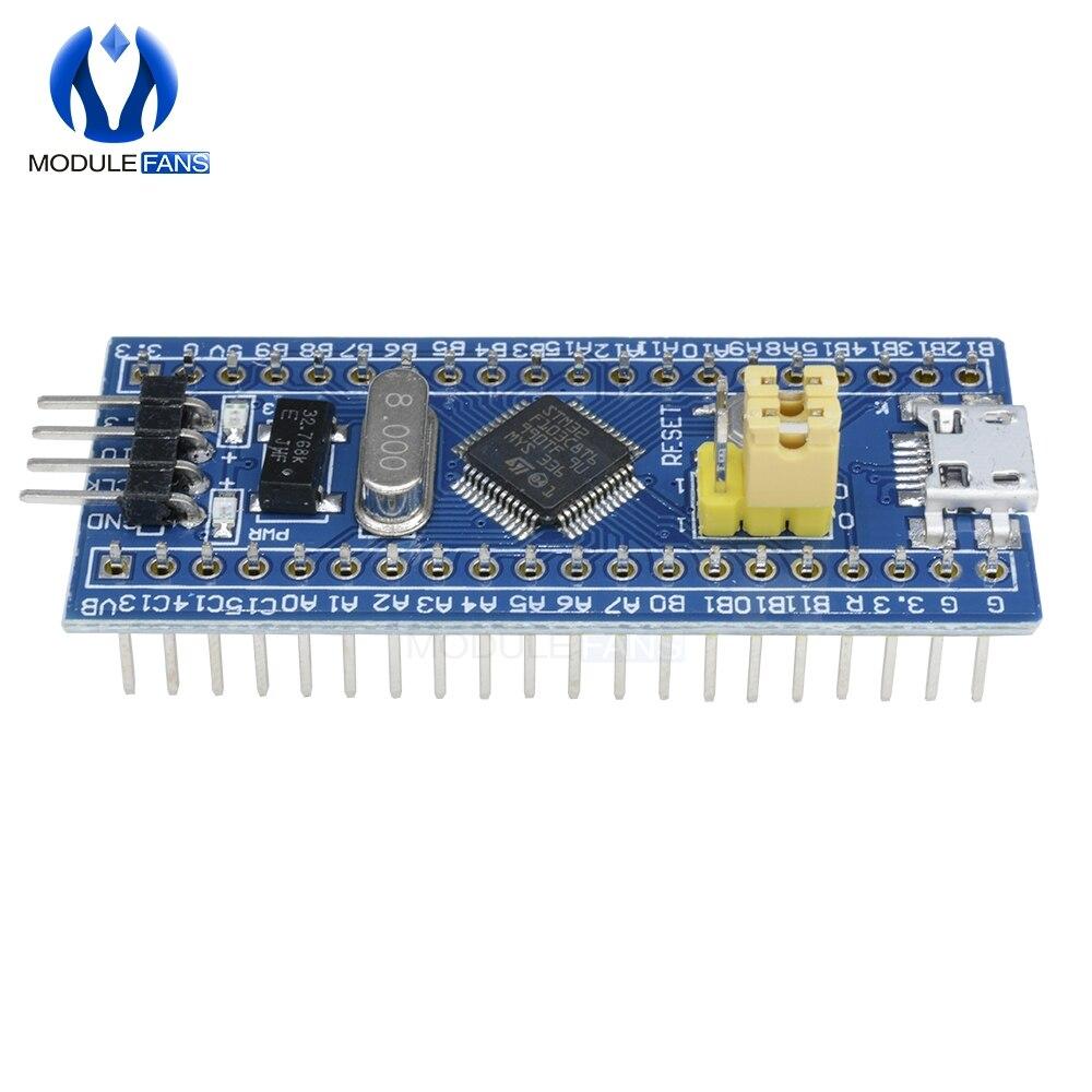 US $1 56 10% OFF STM32F103C8T6 ARM 32 Cortex M3 STM32 SWD Minimum System  Development Board Module Mini USB Interface For Arduino I/O 72Mhz-in