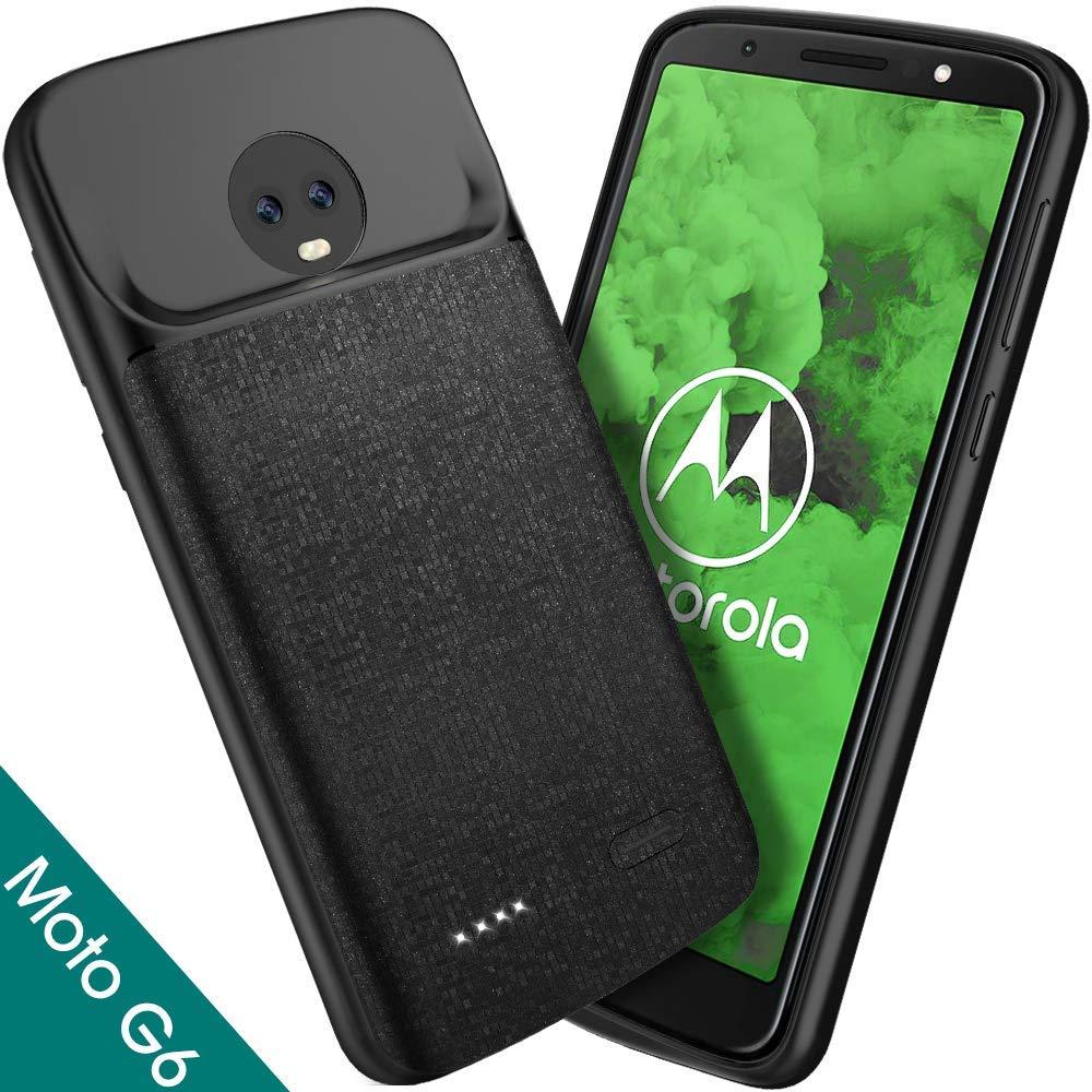 NEWDERY Slim Power Case For MOTO G6 4000mAh Power Bank For Motorola G6 Th Power Bank Battery Case For Moto G6th Generation