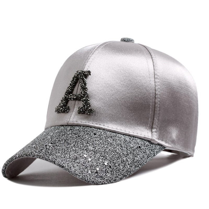 Fashion Women Hip Hop   Baseball     Cap   Rhinestone Sequin Letter Summer kids Sun Hat Boys Girls Solid snapback   Caps   Parent-child   Caps