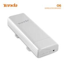 Tengda O6 5 Ghz נקודה לנקודה גשרים אלחוטיים שידור 10Km העברת כוח חיצוני AP Repeater wifi מעלית ניטור