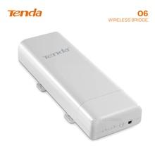 Tengda O6 5 Ghz điểm tới điểm không dây bridges 10Km truyền truyền tải điện ngoài trời giám sát thang máy AP Repeater wifi