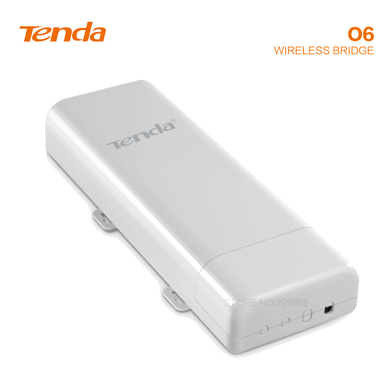 Tengda O6 5 Ghz point à point ponts sans fil 10Km transmission de puissance transmission ascenseur extérieur surveillance AP répéteur wifi