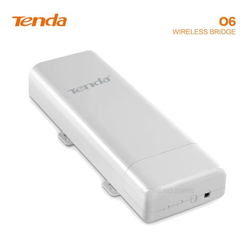 Tengda O6 5 Ghz ponto a ponto de monitoramento elevador pontes 10Km de transmissão de transmissão de energia sem fio ao ar livre AP Repetidor wi-fi