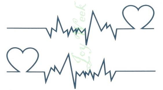 Waterproof Temporary Tattoo Sticker of body Love wave 2