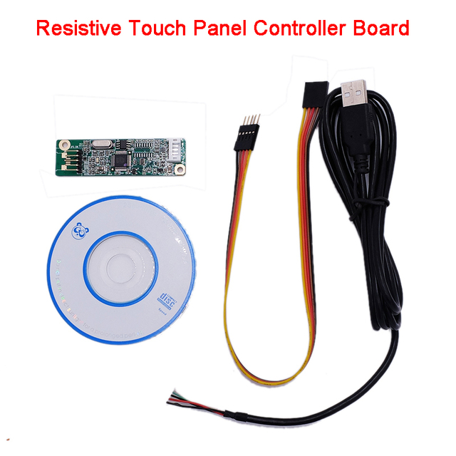 5 wire 5 wire resistive touch screen panel usb port driver rh aliexpress com