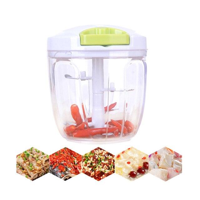 Multifunctionele Handmatige Vleesmolen Thuis Keuken Tool Processors Voedsel Chopper Vleesmolen Mixer Blender Chop Fruit Groente Moer Kruiden