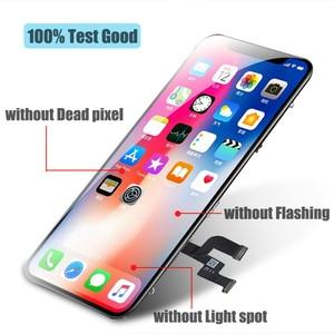 Image 2 - BFOLLOW kopya LCD/OLED iPhone X ekran değiştirme için gerçek ton sayısallaştırıcı ekran meclisi çerçeve mühür