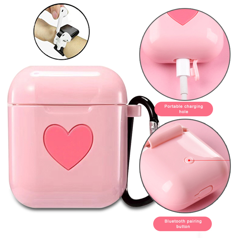 Earbuds Covers For Apple Airpods Accessories Cute Case Protector I9s I10 I11 I13 I19 TWS Air Pods Earphones Protection Coque