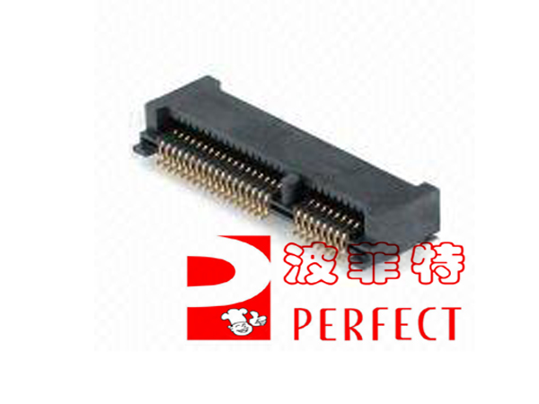 5 pcs The mini PCI - E socket the mini PCI - E 52 pin slot wireless network card slot msata socket