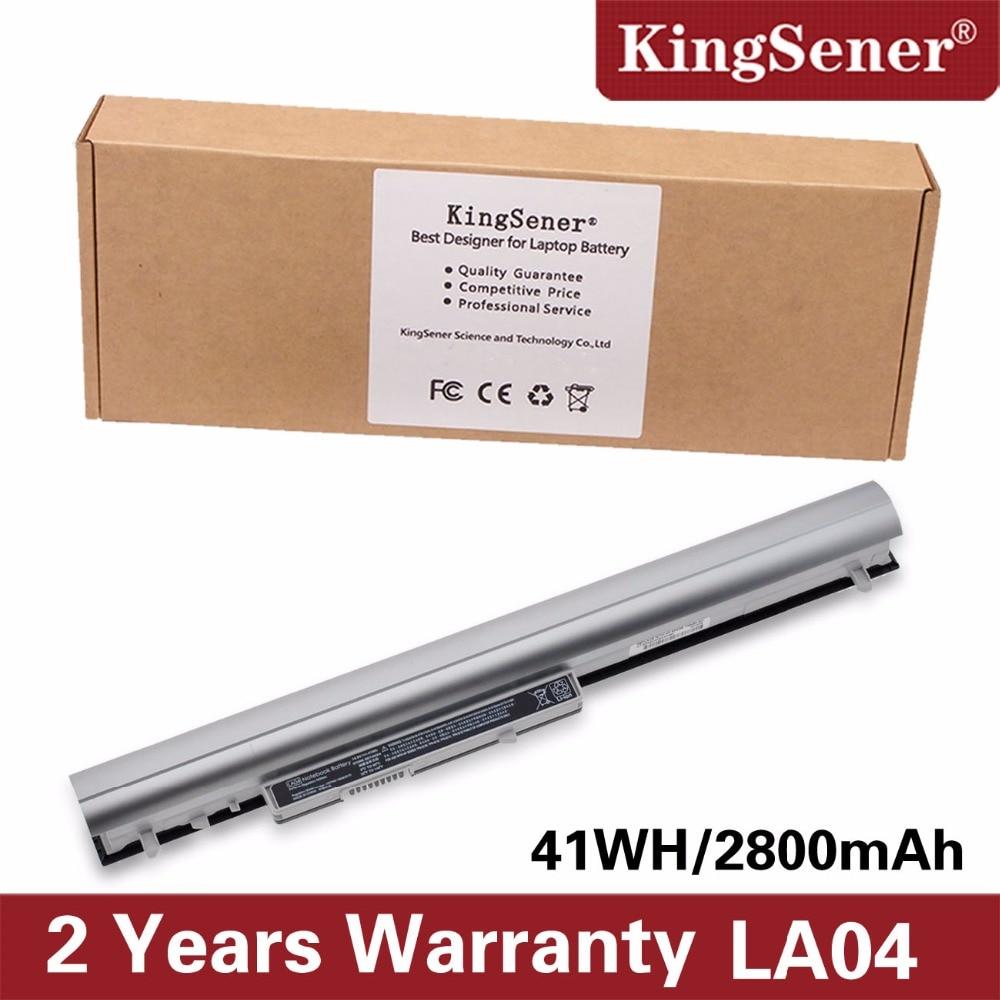 KingSener LA04 Laptop Battery For HP Pavilion TouchSmart 14 15 HSTNN-YB5M HSTNN-UB5N HSTNN-UB5M 728460-001 HSTNN-Y5BV HSTNN-DB5M ki04 battery for hp pavilion 14 15 17 ab000 hstnn lb6s db6t 800049 001 14 8v
