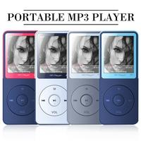 MP3 Player Button Operation Fashionable Color Matching Appearance External Sound Release HIFI Lossless Music Portable TF Card
