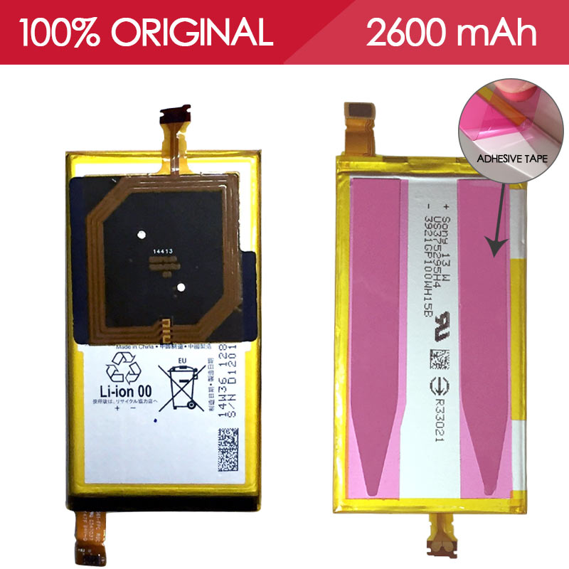 Allparts TESTED LIS1561ERPC 2600mAh Li ion Battery For Sony Xperia Z3 Compact Battery Z3 Mini D5803