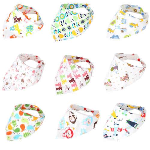 Embebé 1 piezas niños bebé alimentación cabeza bufanda toalla babero niño niñas Bandana Saliva triángulo Dribble recién nacido triángulo cabeza bufanda