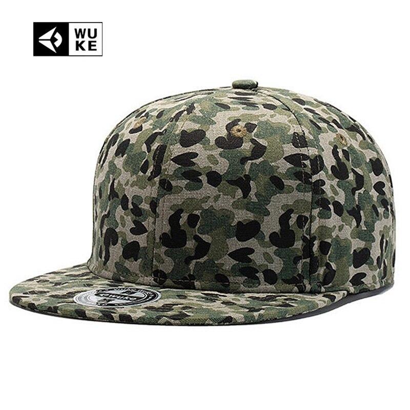 Wuke Geometric   Baseball     Cap   Big Size Floral Print Spot Hip Hop Hat For Women Snapbacks Hats Ladys Pretty Bones Brand 2018 New