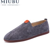 MIUBU Summer Men Comfortable Soft Walking Shoes New Casual MenS Breathable Holiday Light Weight Loafers Driving Flats