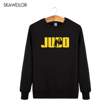 2018 Winter Fashion Style Mens Judo Hoodies Harajuku Hip Hop O-Neck Sweatshirts Cool Streetwear Camisetas