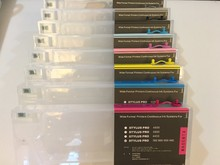 Empty Refillable Ink Cartridge With Reset Chip For Epson Stylus Pro 4000 7600 9600 Printer 220ML