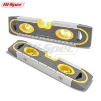Hi-Spec 1 шт. 230 мм уровень духов магнитный Алюминий рычаг линейки Высокая точность весы измерительный инструмент диагностический инструмент