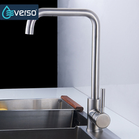 Hot Sale 304 Stainless Steel No Lead Kitchen Sink Faucet 360 Swivel Sink Tap Kitchen Faucet