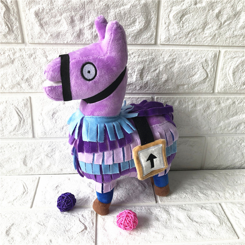 Game Fortress Night Dolls Toy Troll Stash Llama Plush Toy Rainbow Horse  Stuffed Toys Soft Alpaca Animal Dolls Chirstmas Kid Gift