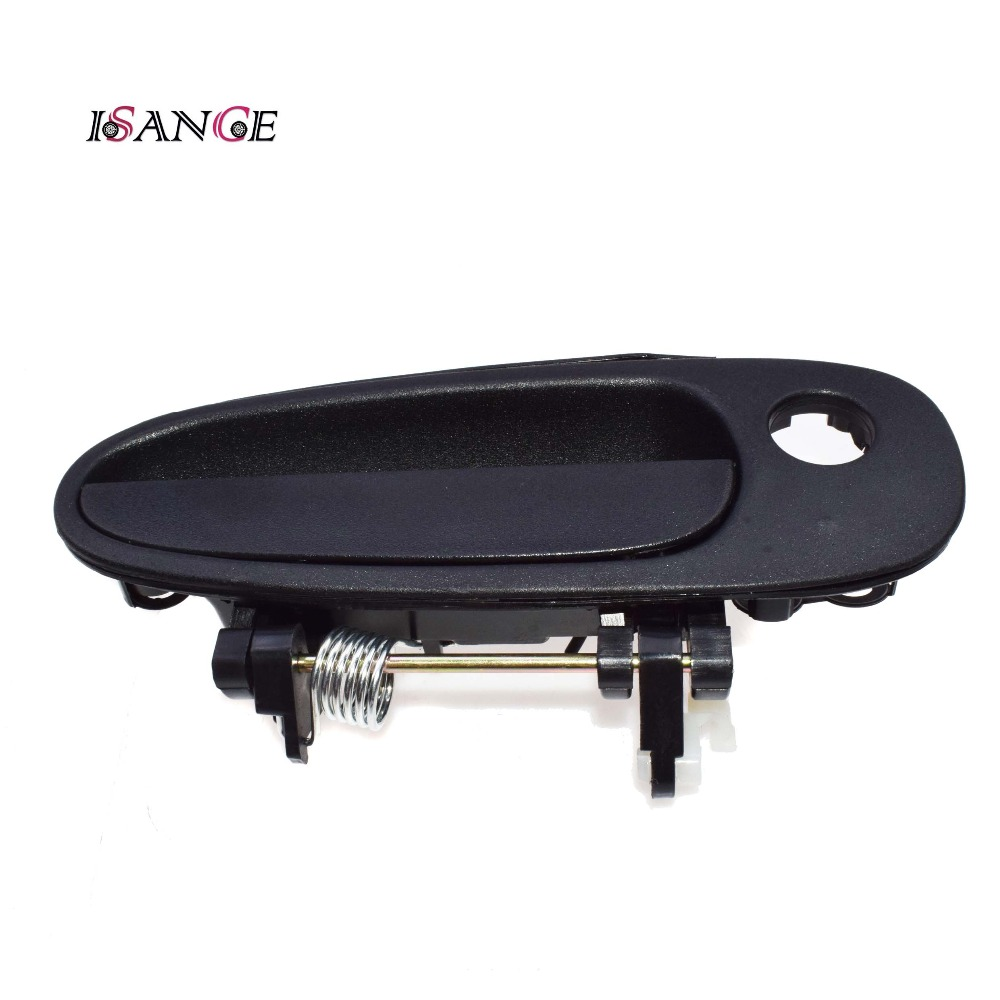 hight resolution of outside exterior door handle front right black for geo prizm toyota corolla 1993 1997 69210 12170 69210 12160