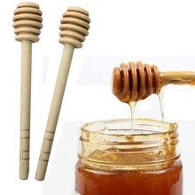 1 шт. практичная деревянная медовая ложка для перемешивания с длинной ручкой, палочка-ковш для медовых кувшин, кухонные принадлежности B216