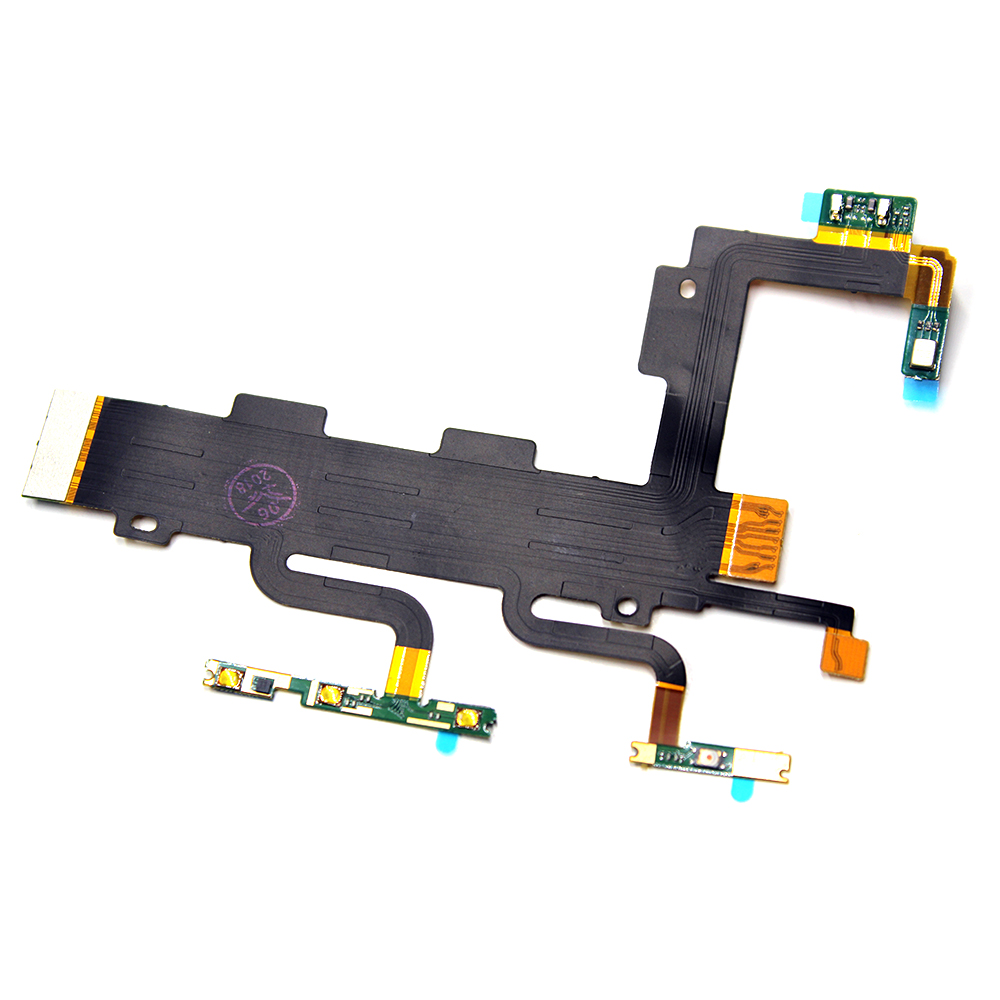 Power On/Off Button & Volume Up/down Buttons Flex Cable For Sony Xperia C3 S55T S55U D2502 D2533