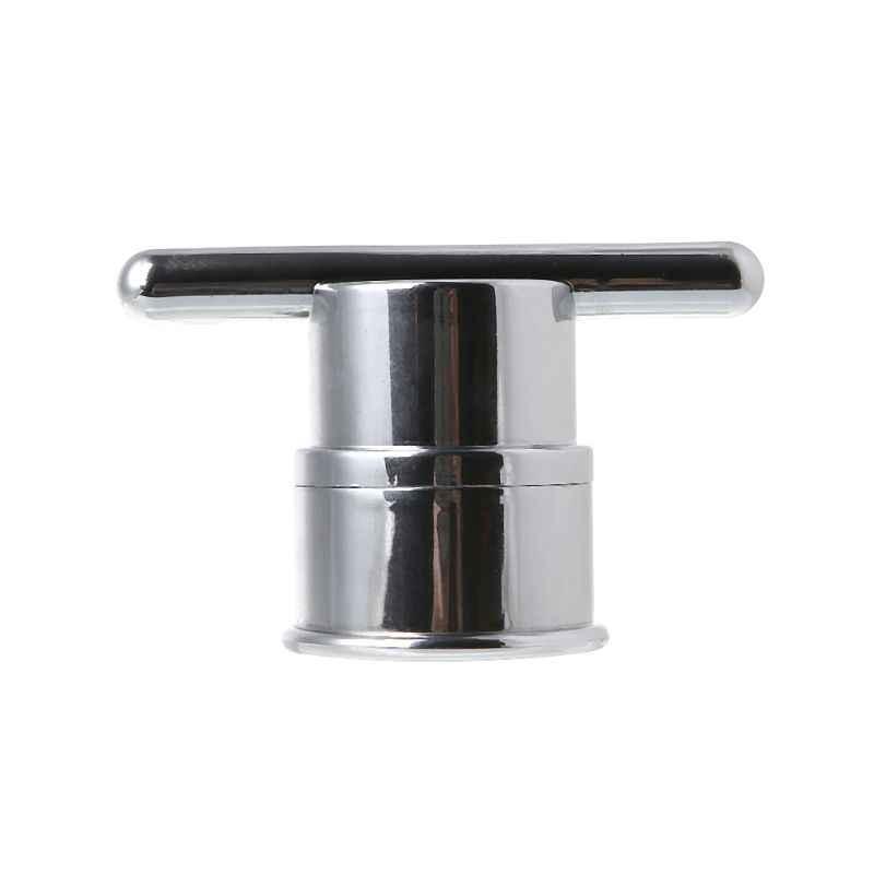 Galwanicznie z tworzywa sztucznego pojedynczy otwór prysznic drzwi gałka uchwyt dla meble do wnętrz kabina prysznicowa
