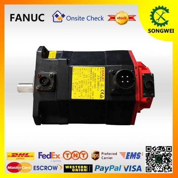 Alpha iF 12/3000 FANUC AC servo motor A06b 0243 b401 -in