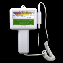 LIXF Water Quality PH/CL2 Chlorine Tester Level Meter for Swimming Pool Spa