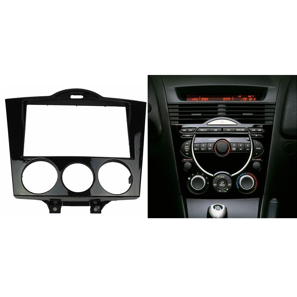 Double Din Audio Panel til Mazda RX-8 RX8 Radio Fascia Refitting Dash - Bilreservedele - Foto 6