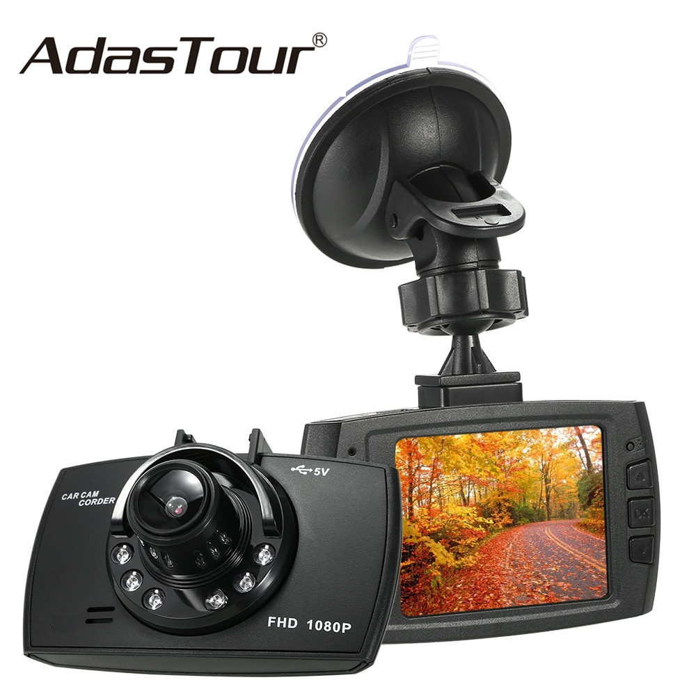 2.7/'/' 1080p FHD Car DVR Camera 170 Lens Night Vision WDR USB Dash Cam No TF