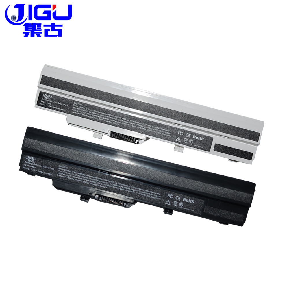 JIGU 6 Cell Laptop Battery For MSi U100 U90 U200 U210 U230 BTY-S11 BTY-S12 for LG X110 For MEDION Akoya Mini E1210 golooloo 6600mah black laptop battery for msi u100 u90 u210 u200 bty s12 u230 bty s11 for lg x110 for medion akoya mini e1210